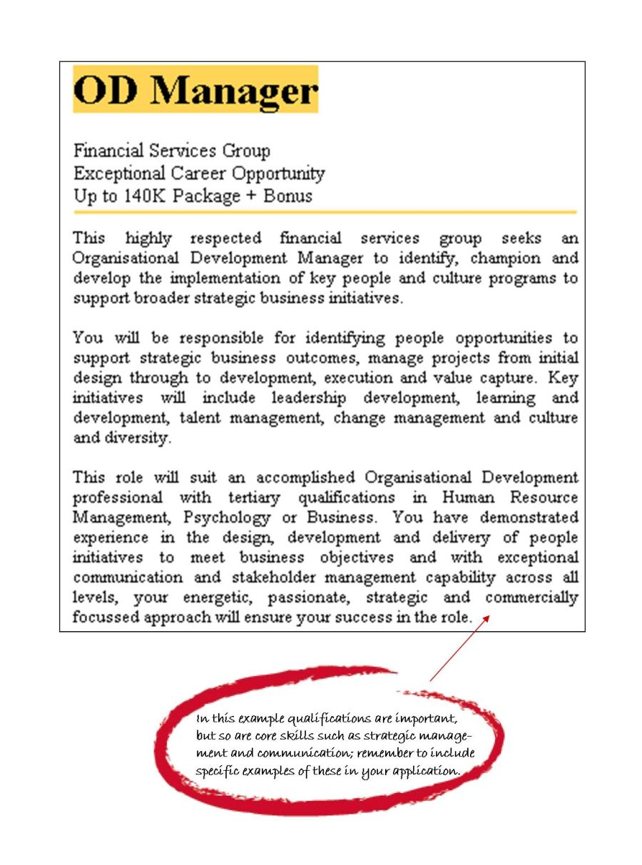 human resource management postgraduate area of study degrees example job ad example job ad