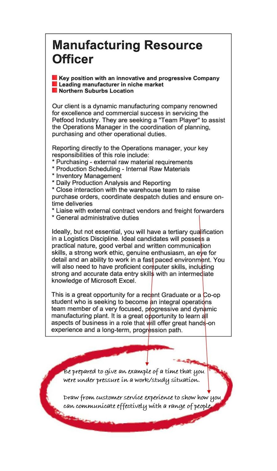 Logistics and Supply Chain Management Area of Study Degrees to – Supply Chain Management Job Description