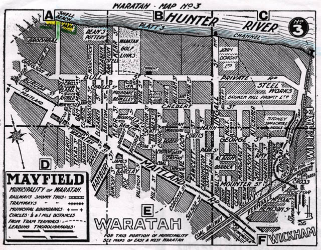 Mayfield, Municipality of Waratah, 1930