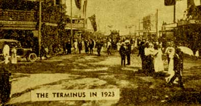 The Terminus in 1923